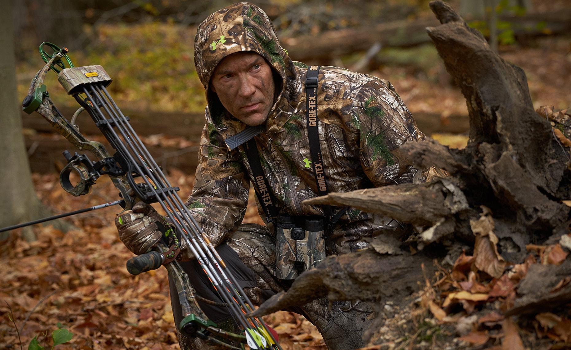 Location Photography Portrait Gore-Tex-Hunting
