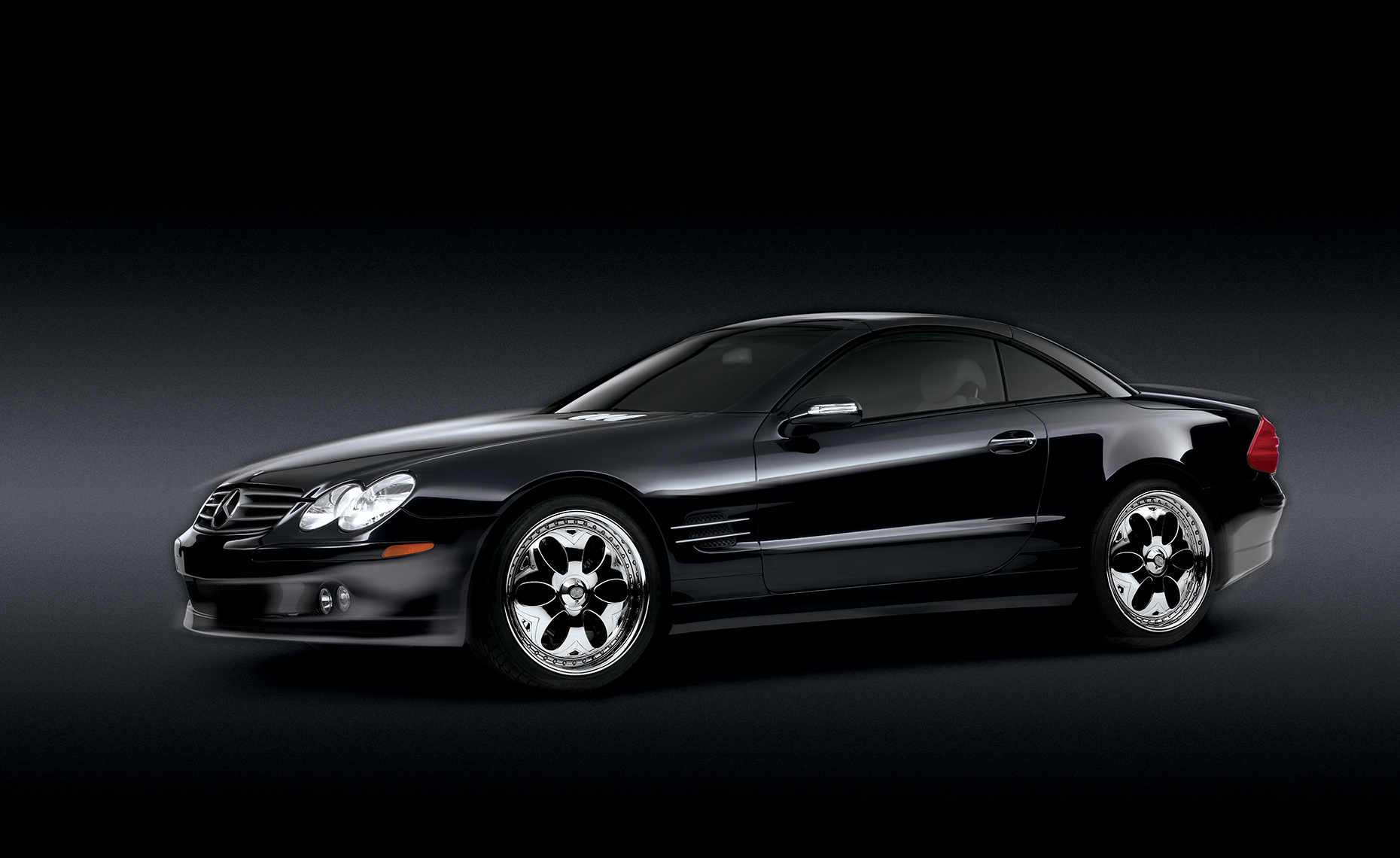Automotive Photography Mercedes SL 500